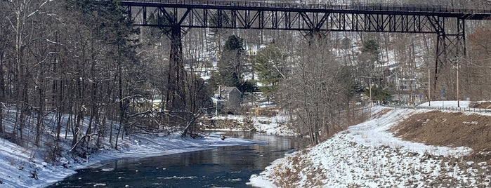 The Rosendale Trestle is one of Upstate.