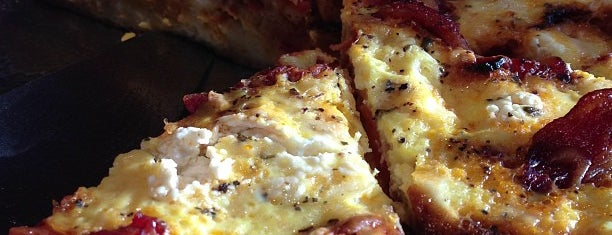 The Wedge Pizzeria is one of Top Brunches.