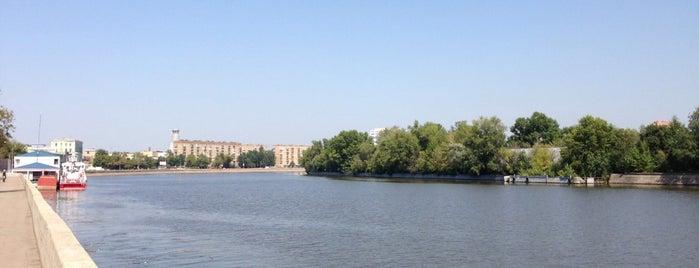 Павелецкая набережная is one of Набережные Москвы.