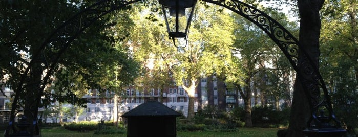 Portman Square is one of London1.