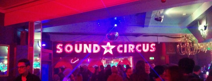 Sound Circus is one of The Ultimate Student Guide to Bournemouth.