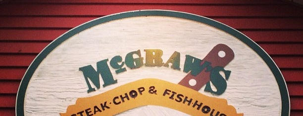 McGraw's Steak Chop & Fish House is one of Locais curtidos por Boris.