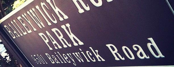 Baileywick Park is one of Gordon'un Beğendiği Mekanlar.