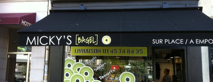 Micky's Bagel is one of FatList - Paris [FR].