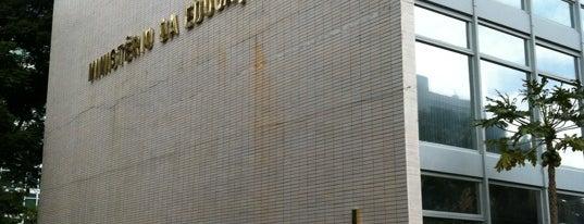 Ministério da Educação (MEC) is one of Tempat yang Disukai Thiago.