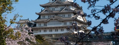 Himeji Castle is one of World Heritage Sites List.