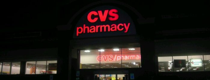 CVS pharmacy is one of Favorites.