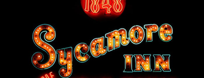 The Sycamore Inn is one of Pacific Old-timey Bars, Cafes, & Restaurants.