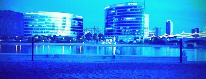 Tempe Beach Park is one of Ms. 4 §q@®€ : понравившиеся места.