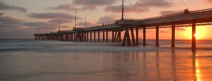 Venice Beach Pier is one of Living in Southern California.