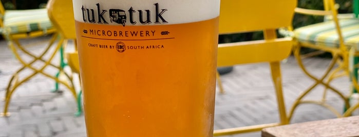 Tuk Tuk Microbrewery is one of South Africa.