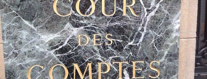 Cour des Comptes is one of Locais curtidos por Emilio.