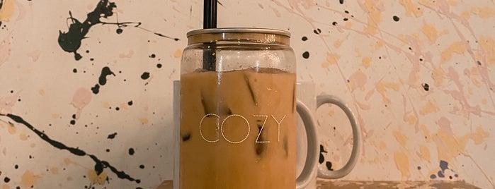 COZY is one of Riyadh , Cafe☕️.