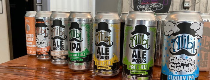 Alibi Ale Works is one of Secret Cove.