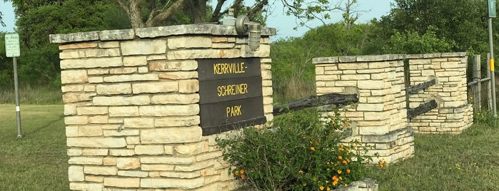 Kerrville Schreiner Park is one of Get outdoors.
