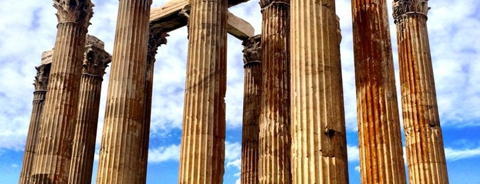 Temple of Olympian Zeus is one of Athens: Main Sights.