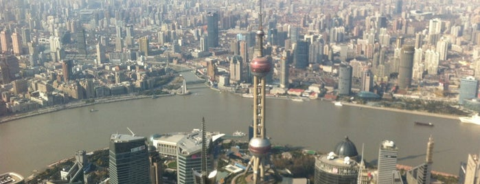 Sky Walk 100 Shanghai World Financial Centre is one of Locais salvos de Diego.
