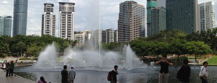 Kuala Lumpur City Centre (KLCC) Park is one of Malaysia 2012.