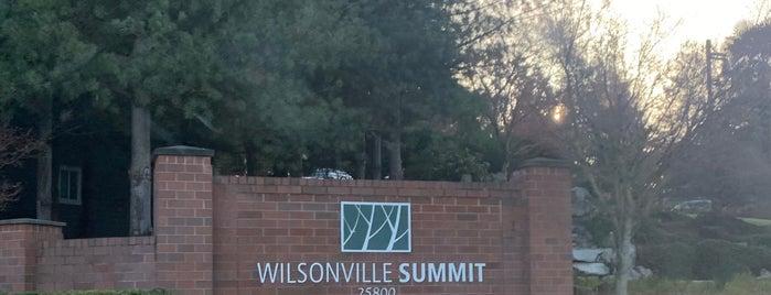 City of Wilsonville is one of OREGON.