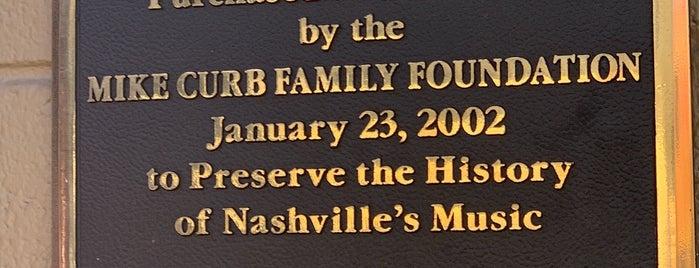 RCA Studio B is one of 🇺🇸 Nashville.