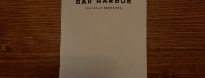 Bar Harbor is one of Seattle.