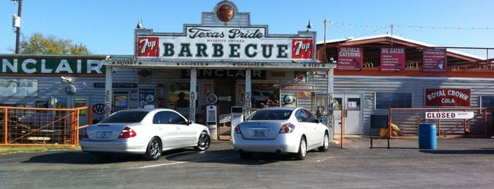 Texas Pride BBQ is one of Diner, Drive-Ins, & Dives - Southern US.