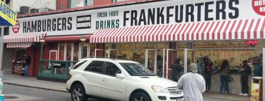 Fulton Hot Dog King is one of Brooklyn Yum.