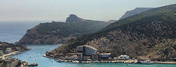 Балаклавская бухта is one of Crimea.