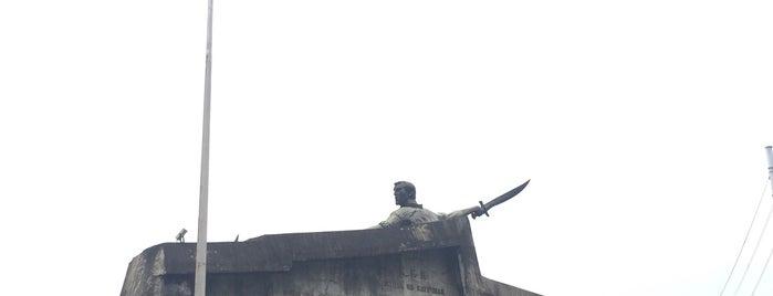 Kartilya ng Katipunan Shrine is one of Filipinler-Manila ve Palawan Gezilecek Yerler.