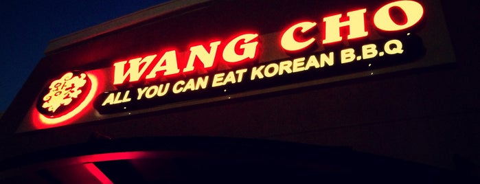 Wang Cho Korean BBQ - Chino Hills is one of Lugares guardados de Anita.