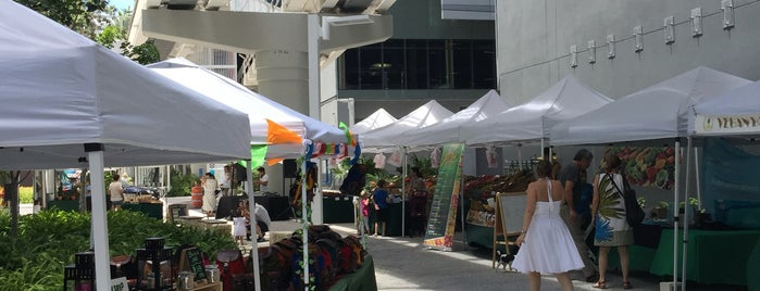 Brickell City Centre Farmer's Market is one of Lieux qui ont plu à Patty.