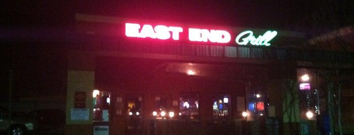 East End Grill is one of Tempat yang Disukai Bradley.