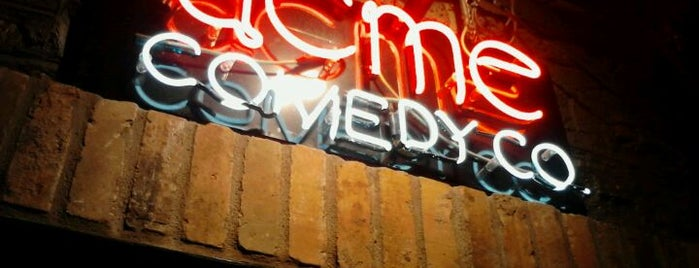 Acme Comedy Company is one of City Pages Minneapolis 100% 10x.