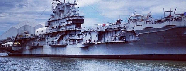Intrepid Sea, Air & Space Museum is one of New York City.