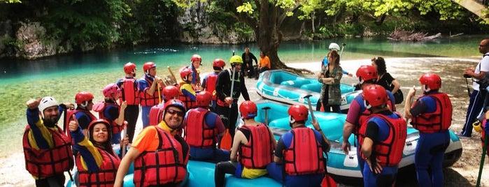 Alpine Zone Rafting is one of Amazing Epirus.