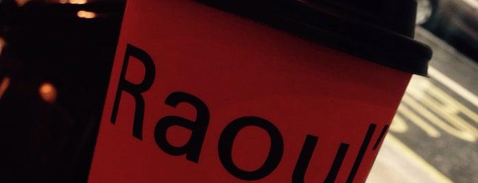Raoul's Deli is one of สถานที่ที่ Robin ถูกใจ.