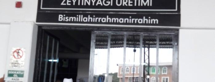 Özgün Zeytin & Zeytinyağı Üretim Tesisleri is one of Canan'ın Beğendiği Mekanlar.