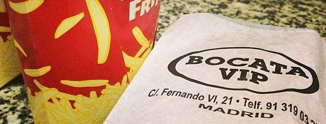 Bocata Vip is one of Madrid.