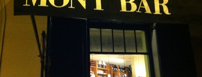 Mont Bar is one of BCN.