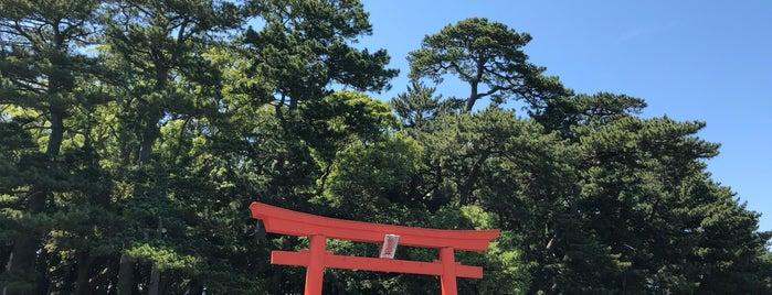 諸口神社 is one of 伊豆.