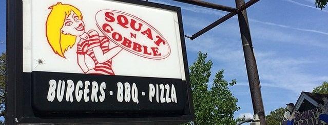Squat 'n Gobble is one of Lieux qui ont plu à katy.