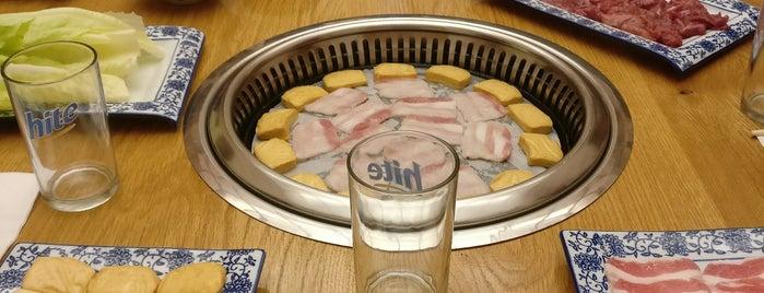 Brases de barbacoa is one of A comer y a beber.