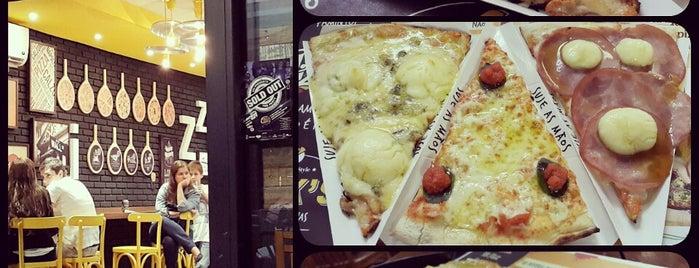 Nick's Pizzaria is one of Fábio.