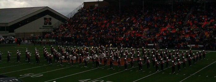 Paul Brown Tiger Stadium is one of Dezzys Stops on DCI Tour.