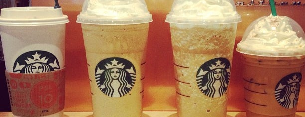 Starbucks is one of Lugares favoritos de Mellanie.