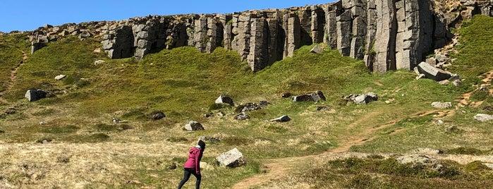 Gerðuberg Cliffs is one of Iceland.