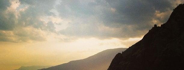 Медведь-гора is one of Crimea.
