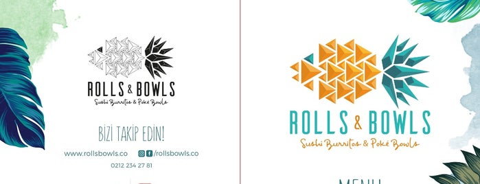 Rolls & Bowls is one of Istanbul.