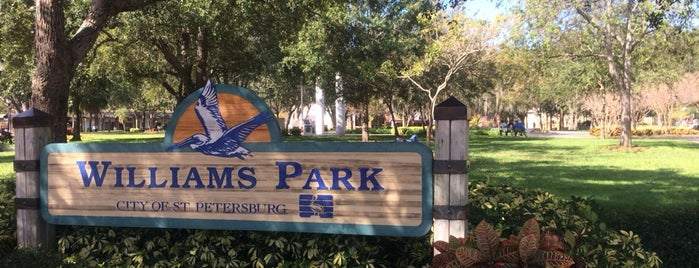 Williams Park is one of Orlando/2013.