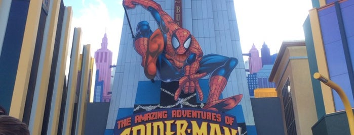 The Amazing Adventures of Spider-Man is one of Orlando/2013.